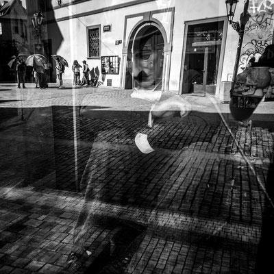 Street Photography Charlie Chaplin