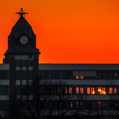 Tag 336_Sonnenuntergang hinterm alten Zollamt 01.05.2015