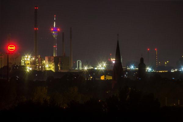 Tag15_Blick in Richtung Rheinturm 14.06.2014