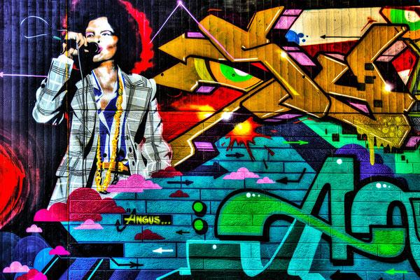 Tag 34_Grafitti an der Fleher Brücke 03.07.2014