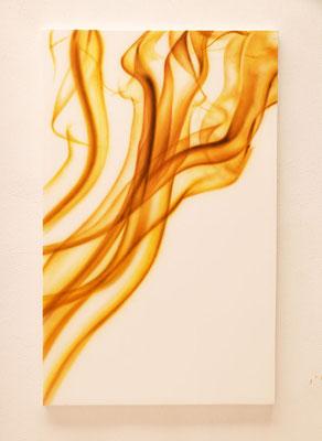 WARM VEIL by Nasel-  acrylic on canvas  160x100cm