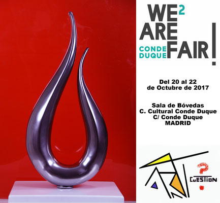 CARTEL WE ARE FAIR NASEL - CONDE DUQUE MADRID 2018