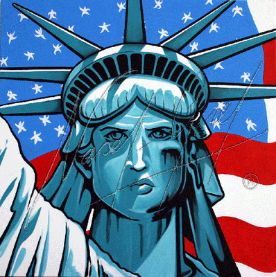 MISS LIBERTY by Nasel