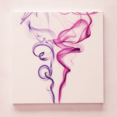 PAS DE DEUX by Nasel - acrylic on canvas  100x100cm