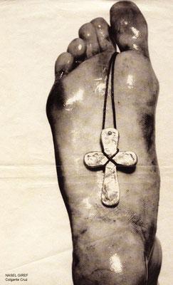 Nasel Giref. Crucifijo colgante