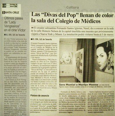 El Día. Tenerife. 28 Febrero de 2008