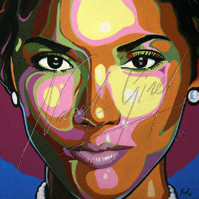 HALLE BERRY by Nasel