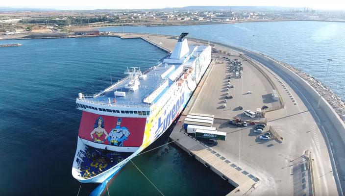 Batman Ferry - Genua - Porto Torres