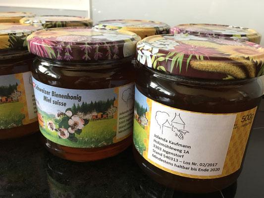 Honig - verkaufsbereit!