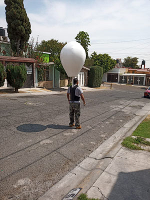 caminante inflable