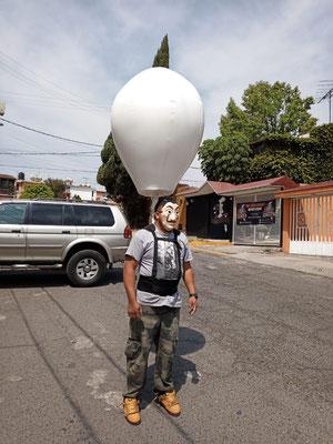 inflable sellado con mochola