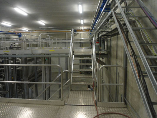 Maintenance Platform EVM Energieversorgung