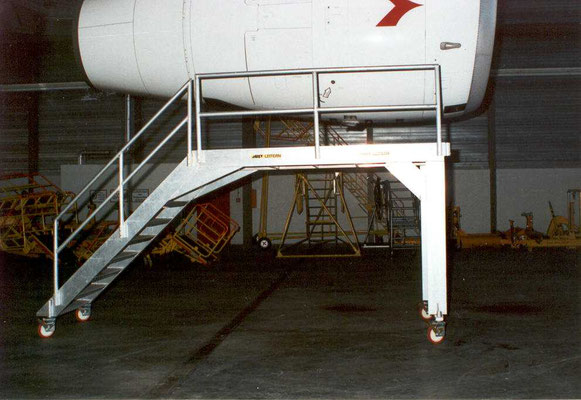 special movable stairs for Austrian Airlines