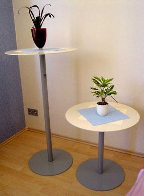 bar tables - coffee tables