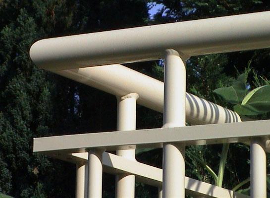 Detail railing corner