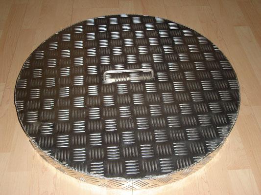 Senkgrubendeckel aus Stahl - Privat