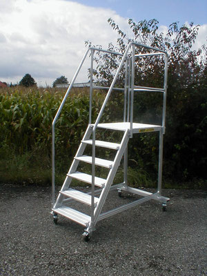 movable stairs - light version