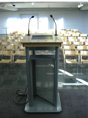 speakers desk