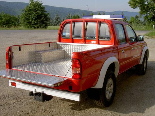 Fahrzeugverkleidung Feuerwehr
