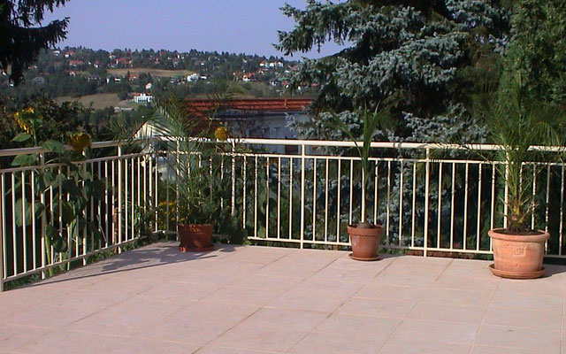 Terrace railings