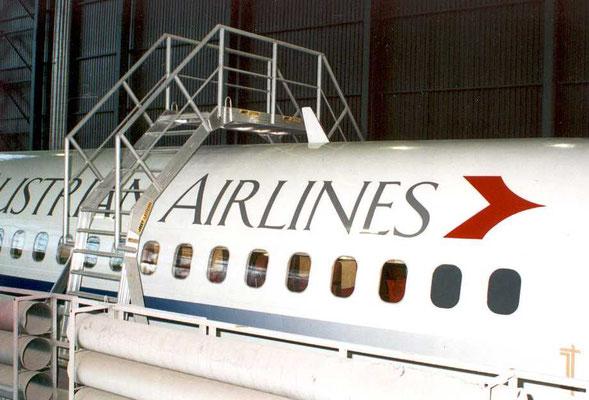 Überstieg für Austrian Airlines