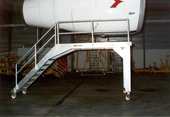 Fahrtreppe für Austrian Airlines