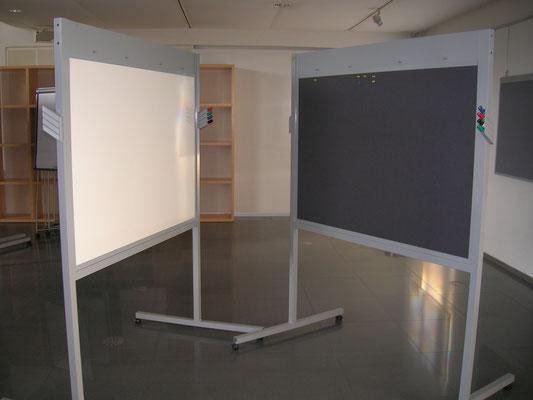 Magnetwand mit Whiteboard - Siemens Forum (diverse Materialien und Fertigungsprozesse)
