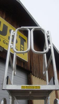 Fahrtreppe mit klappbarem Geländer - Allimpex