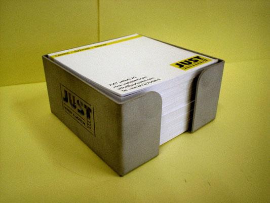 Zettelbox - JUST Leitern AG (Aluminium)