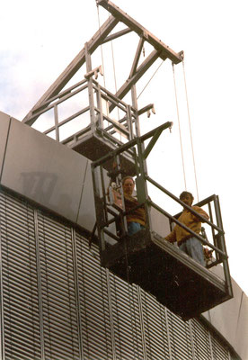 Hanging ptatform systems