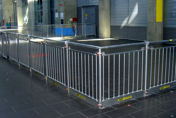 Industrial railings, plug-in (Composite Freudenau)