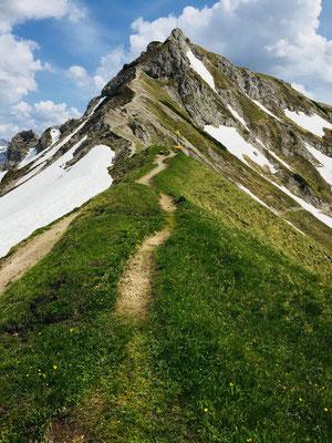 Der Weg zur Steinkarspitze