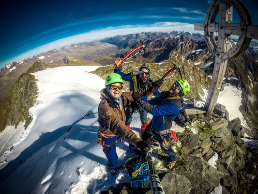Ganz verrückt vom Gipfelglück :-)