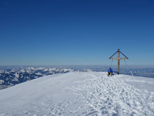 Gipfelkreuz des Großen Daumens