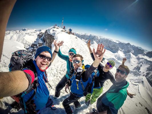 Summit mit unserer super Truppe
