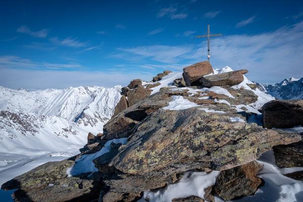 Der Gipfel der Kuhscheibe ist erreicht