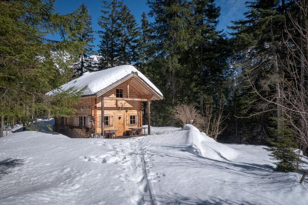 Das war die geilste Jägerhütte welche ich jeh gesehen habe. Genau das wäre mein Traum