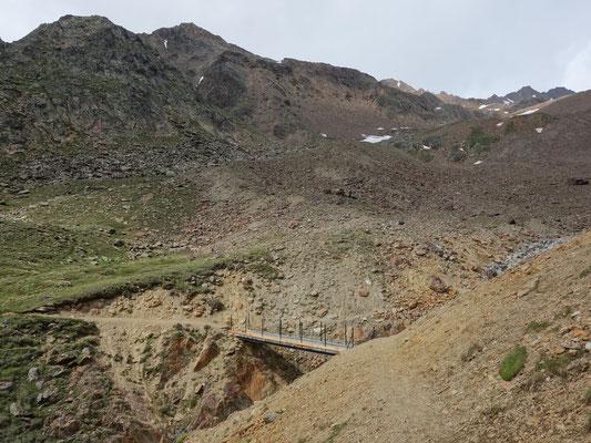 Den Aufstiegsweg erkunden