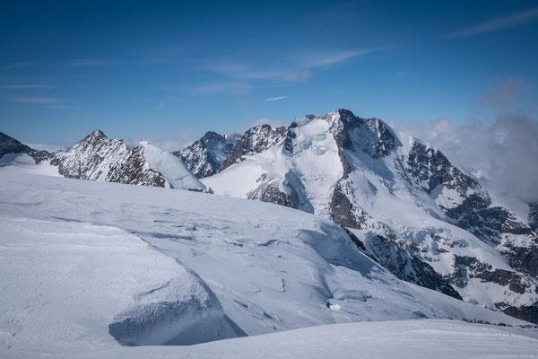 Der östlichste 4000er der Alpen, der Piz Bernina