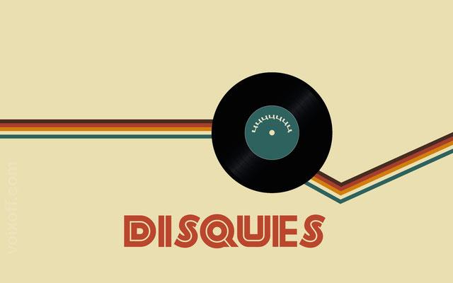voix off Publicité disques