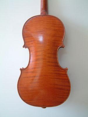 violino Stradivari  Mediceo, fondo