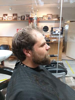 gedekt met baard basis