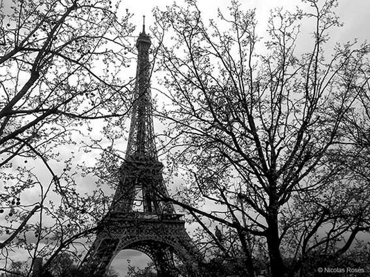 FIVE DAYS IN PARIS 1 Nicolas Rosès Photographe