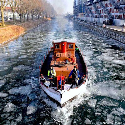 Brise glace Strasbourg Nicolas Rosès Photographe