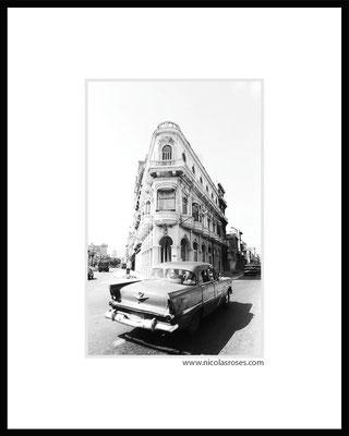 PRADO CUBA     > Photo 21x31cm     Passe partout blanc 40x50cm = 350€ (cadre + 40€) Nicolas Rosès Photographe