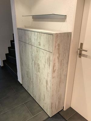 Korridormöbel aus Spanplatte matrix/seta