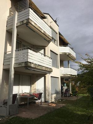 Balkonverkleidung aus Compact Vollkernplatte Exterior