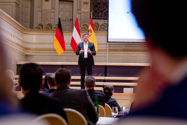 International Keynote Speaker Marc Hauser. Foto: Swiss Cyber Storm, Matthias Käser