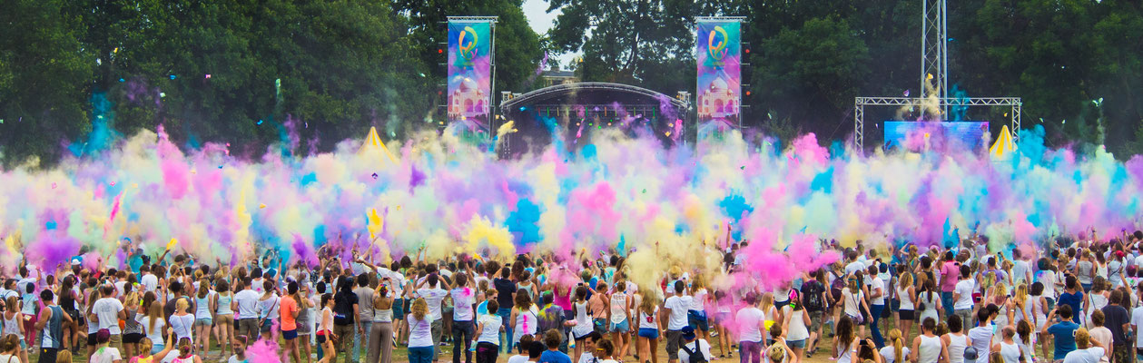 Holi Festival of Colours - 13.000+ bezoekers