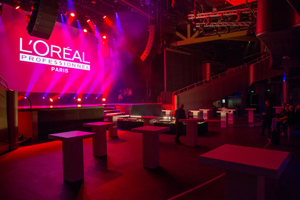 L' Oreal Client event